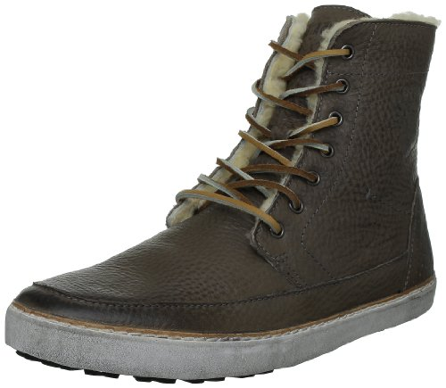 Blackstone Mens Am32 Hi Top Shearling Sneaker Gull