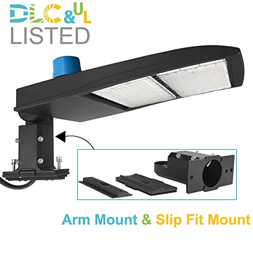 300W LED Parking Lot Light With Photocell 40500...
