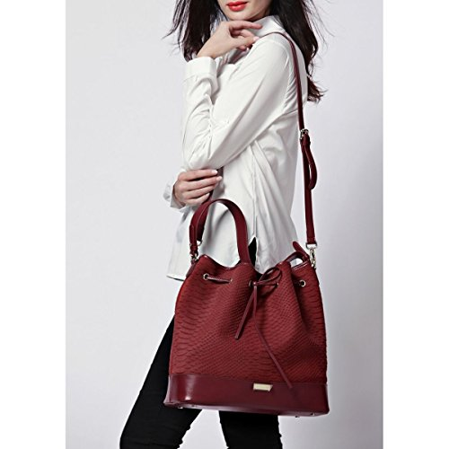Shoulder Burgundy Women's Bag Red Pascal Morabito HAaqwZZ6