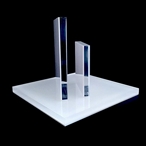 Acrylic Jewelry Display Platform Stand Holder White Fine Exhibition Fashion Store Gallery Trade Show White (Set of 3) by Svea Display (Image #4)