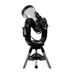 Ready to see the moon and more? Stargazing is enjoyable but why don't you take it up to the next level andbecome an expert in astronomy.Combine top-of-the-line performance with unlimited versatility and you have the Celestron CPC Del...