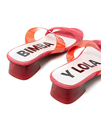 Bimba Y Lola Damen Transparante Hak Sandaal 181bz1242
