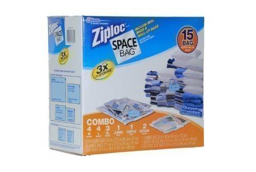 ziploc storage bags vacuum jumbo - 1