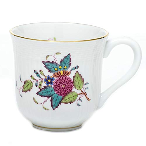 Herend Chinese Bouquet Multicolor Porcelain Coffee Mug