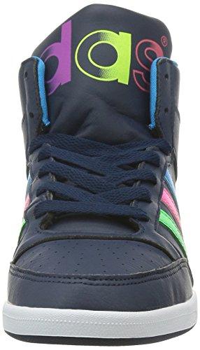 adidas , Damen Hoch , Schwarz - schwarz - Größe: 37 1/3 EU