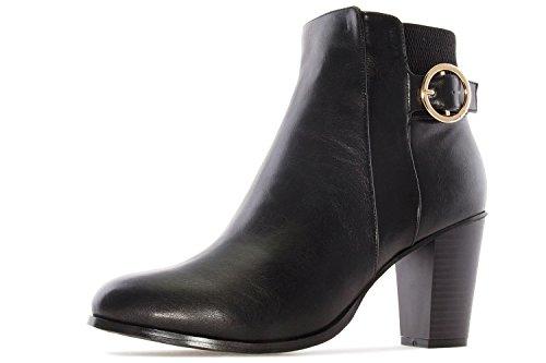 Schuhe in Damen Übergrößen Schwarz Andres Stiefelette Machado 06qq48