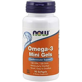 Now Omega-3 Mini Gels,90 Softgels