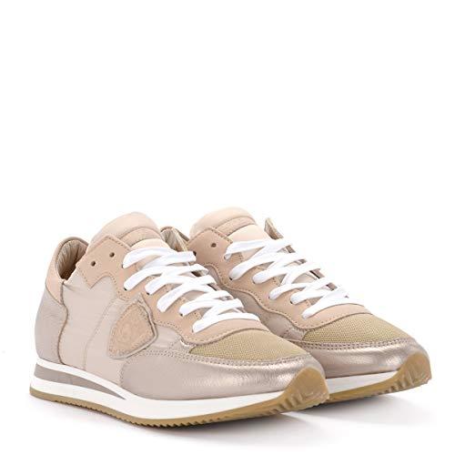 Metal Sneaker Model Pelle Philippe In Rosa Tropez RwqWz
