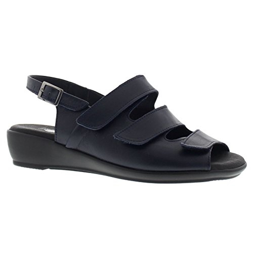 Navy Arcopedico 3 Sandal Womens Sandals Leather qrrpOnwW