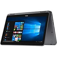 2017 Dell Inspiron 11.6 HD Anti-glare Touchscreen Signature Edition 2-in-1 Laptop, Intel Celeron Dual Core Processor up to 2.48 GHz, 4GB RAM, 32GB SSD, Webcam, Bluetooth, Windows 10, Gray