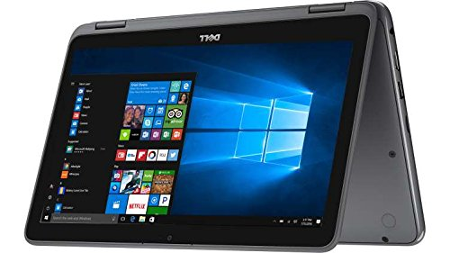 2017 Newest Dell Inspiron 11.6″ HD Anti-glare Touchscreen Signature Edition 2-in-1 Laptop, Intel Celeron Dual Core Processor up to 2.48 GHz, 4GB RAM, 32GB SSD, Webcam, Bluetooth, Windows 10, Gray