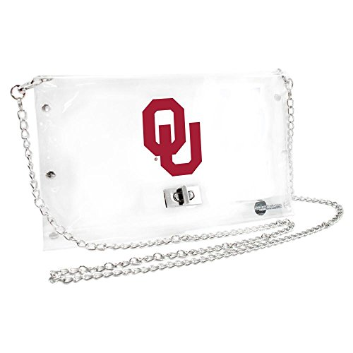 Littlearth South Carolina Fighting Gamecocks  NCAA Envelope Purse 10 x 0.5 x 6.5 Clear Inch