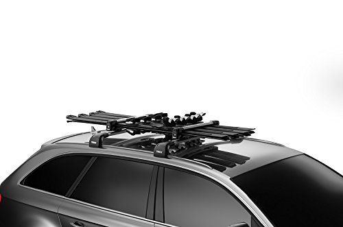 European model Thule SnowPack 6, T-Track mounting hardware only