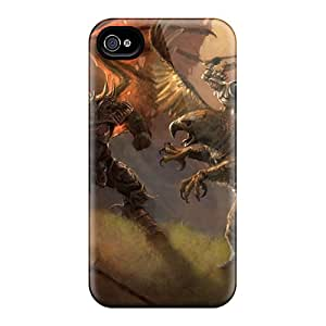Slim Fit Protector Shock Absorbent Bumper Demon King Vs Warrior Cases For Iphone 6