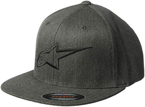 black Alpinestars Heather Homme Hat Charcoal Ageless FlexfitCasquette Flat sdorxCthQB