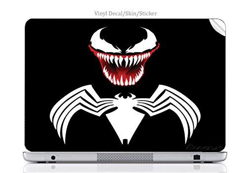 Laptop VINYL DECAL Sticker Skin Print Venom fits Chromebook 550