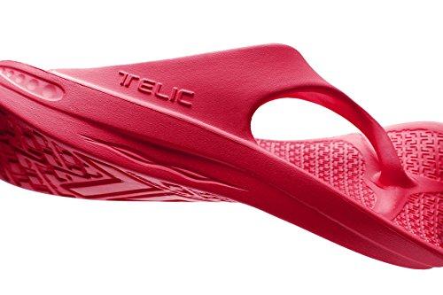 Sandalias Flip Flop De Telic Terox Color Fresh Cranberry Varios Tamaños