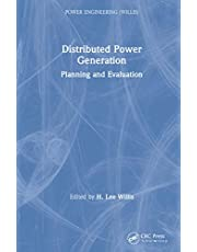 Distributed Power Generation: Planning and Evaluation
