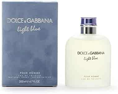 Dolce & Gabbana Light Blue Eau de Toilette Spray for Men, 6.7 Ounce