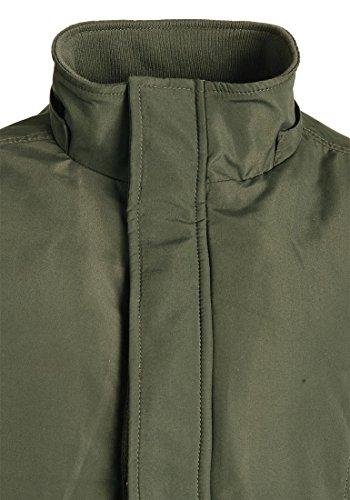 Parka Esterna Edera Cappuccio Giacca 77086 Polygro Con Cappotto Di Uomini Degli Invernale Verde Pelliccia Fondersi CqIHx7Ew7