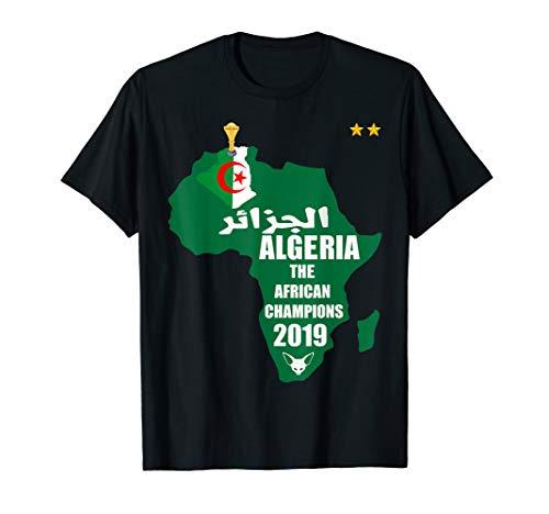 Algeria Soccer Jersey 2019 Shirt Football Africa Cup CAN  T-Shirt (Best Football Jersey 2019)