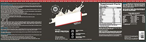 MET Rx® Natural Whey Vanilla, 5 pound