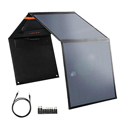 AIPER 60W Solar Panel for Suaoki/Jackery/Enkeeo/Goal Zero Yeti/Rockpasls/Paxcess Portable Power Station as Solar Generator, Portable Foldable Solar Charger with USB Port