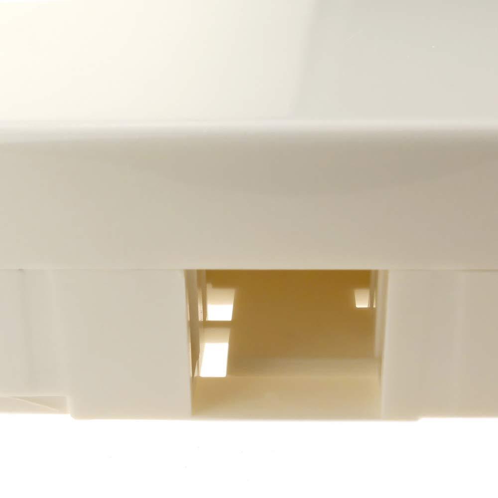 BeMatik Caja de Conexiones para Fibra /óptica de 2 Puertos LC SC con Ordenador de Fibras
