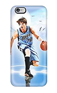 Iphone 6 Plus Hard Back With Bumper Silicone Gel Tpu Case Cover Utah Jazz Nba Basketball (9)