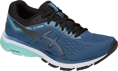 ASICS GT-1000 7 Women's Running Shoe, Grand Shark/Black, 8 D US