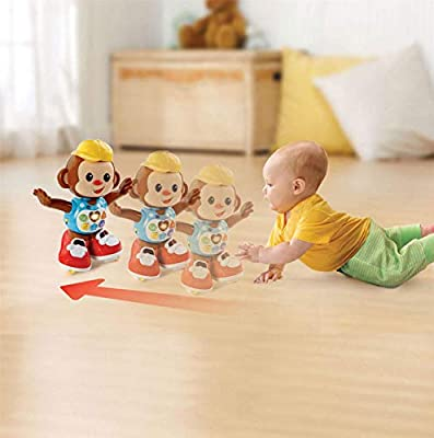 Vtech Battery Operated Chase Me Casey Interactive Monkey