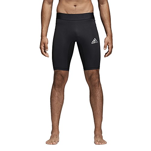 adidas Mens Soccer Alphaskin Compression Shorts Tight (Medium)