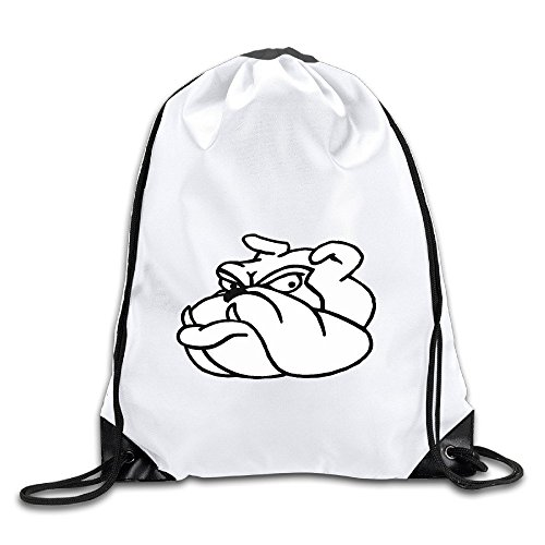 HNN Pitbull Dog Drawstring Backpacks Sack (Kelty Dog Packs)
