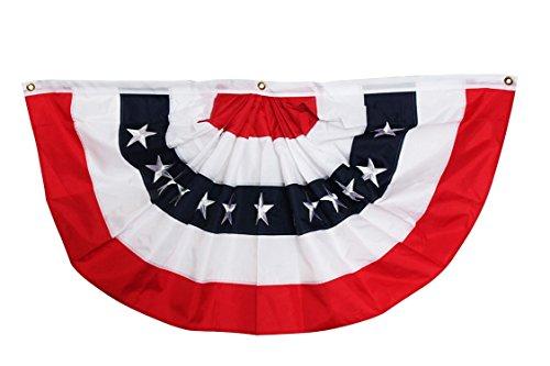 Briarwood Lane Patriotic Bunting USA 48 x 24