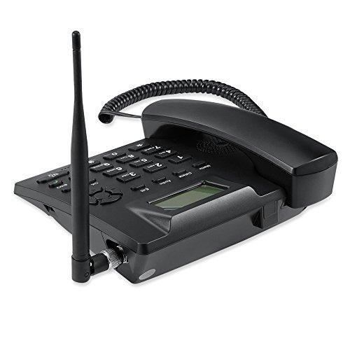 Desktop Wireless Telephone GSM Quadband Fixed Phone for Home