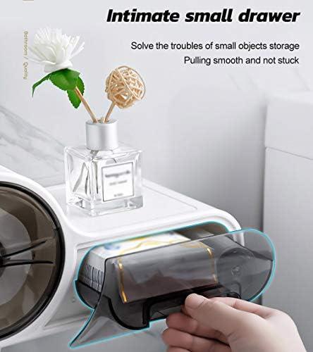 トイレットペーパーホルダー、壁掛け式防水トイレットペーパーホルダークリエイティブプラスチックティッシュ収納ボックストイレットペーパーロールディスペンサー浴室用