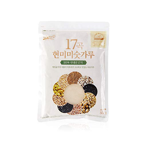 Brown Rice Seventeen Grains Instant Breakfast Meal Replacement Roasted Mixed Grain Shake Powder Premium Natural Food