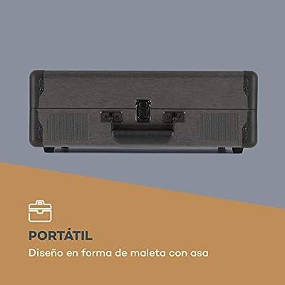 auna Billy Bob Tocadiscos portátil: Amazon.es: Electrónica