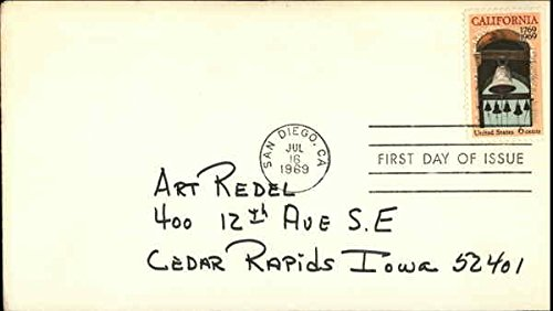 California 1769 1969 Stamp, First Day of Issue Original First Day Cover - Issue Stamp Cover