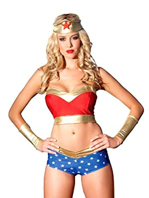 Be Wicked Womens Bedroom Costume Heavenly Heroine