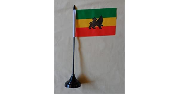 "Lion of Judah 4/""x6/"" Flag Desk Table Stick"