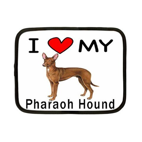 I Love My Pharaoh Hound Tablet iPad Case - 1st Generation iPad - iPad 2 - New iPad - iPad 3 - iPad 4 - Fits all iPads and tablets