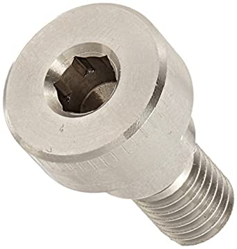 Head Shoulder Screw Thread Size 3//8-16 18-8 Stainless Steel