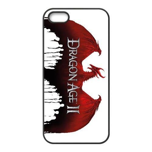 L'âge de dragon C9R97 ii T5L5IS coque iPhone 4 4s cellulaire cas de téléphone couvercle coque noire DD2DDO0QF