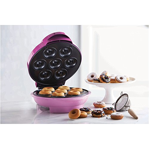 Brentwood RA25986 Appliances TS-250 Electric Food (Mini Donut Maker), One-Size Pink by Brentwood (Image #2)