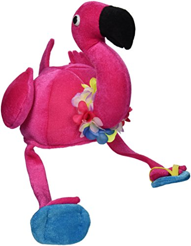 Plush Flamingo Hat Party Accessory (1 count) (1/Pkg) -