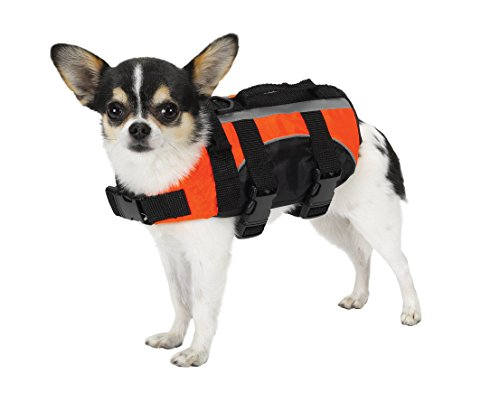 Dog Puppy Guardian Safety Vest (Guardian Gear Aquatic Preserver for Dogs, 8