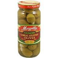 Mezzetta Olive, Stuffed Garlic, 10-Ounce