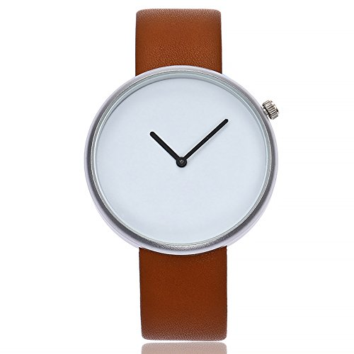 VEHOME Reloj Casual para Mujer - Correa de Cuero - Cuarzo analógico-Mujeres Relojes Inteligentes relojero Reloj reloje de Pulsera Marcas Deportivos Relojes ...