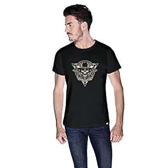 Creo Never Stop Riding Bikes T-Shirt For Men - S, Black